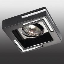 Светильник встраиваемый 369844 NT14 181 черный IP20 GX5.3 50W 12V FABLE - 1 350 руб.