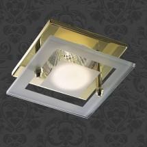 Светильник встраиваемый 369345 NT09 276 золото IP20 GX5.3 50W 12V WINDOW - 302 руб.