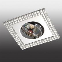 Светильник встраиваемый 369836 NT14 175 хром/зеркальный IP20 GX5.3 50W 12V MIRROR - 657 руб.