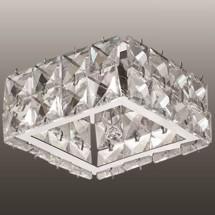 Светильник встраиваемый 370166 NT15 141 хром/хрусталь IP20 G9 40W 220V NEVIERA - 946 руб.