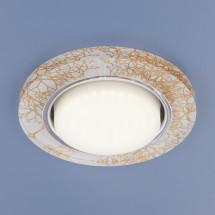 Встраиваемый точечный светильник 1062 GX53 WH/GD белый/золото 541р