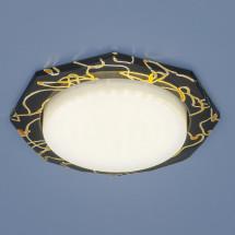 Встраиваемый точечный светильник 1065 GX53 BK/GD черный/золото 324р