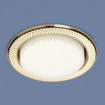 Встраиваемый точечный светильник 1066 GX53 GD золото 343р