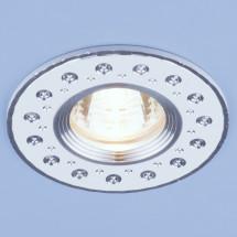 Алюминиевый точечный светильник 2008 MR16 WH белый 312р