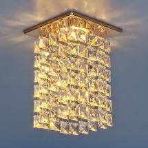 Светильник точечный с хрусталем 207 MR16 золото/прозрачный MR16 (GD/Clear)701р