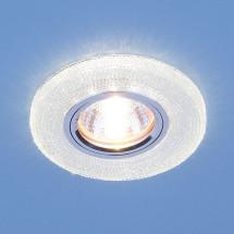 Встраиваемый потолочный светильник со светодиодной подсветкой 2130 MR16 CL прозрачный 602р