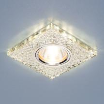 Встраиваемый потолочный светильник со светодиодной подсветкой 2150 MR16 SL зеркальный/серебро 598р