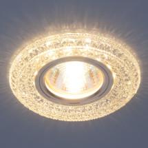 Встраиваемый потолочный светильник со светодиодной подсветкой 2160 MR16 CL прозрачный 602р