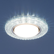Точечный светильник со светодиодами 3030 GX53 CL прозрачный 581р