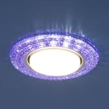 Точечный светильник со светодиодами 3030 GX53 VL фиолетовый, синий, зеленый 598 руб.