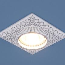 Точечный светильник для подвесных, натяжных и реечных потолков 4104 белый/хром MR16 375р