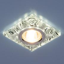 Точечный светильник светодиодный 8361 MR16 WH/BK белый/черный 650р