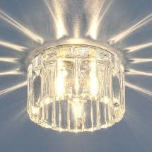 Встраиваемый потолочный светильник 8449 CH/WH G9 (прозрачный) 404р