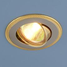 Точечный светильник 870A PS/G MR16 (серебро / золото) 302р