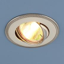 Точечный светильник 870A PS/N MR16 (серебро / никель) 302р