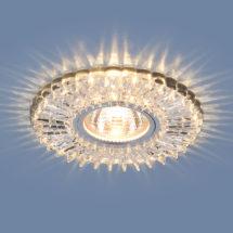 Встраиваемый светильник MR16 50W прозрачный (2204) 362р.