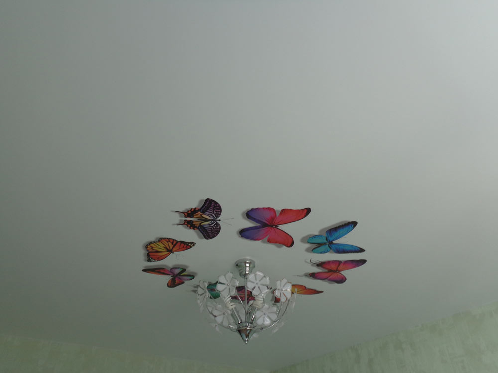 натяжные потолки с фотопечатью фото